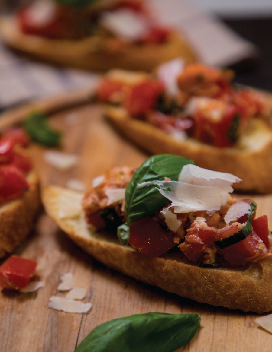 Steelhead Bruschetta