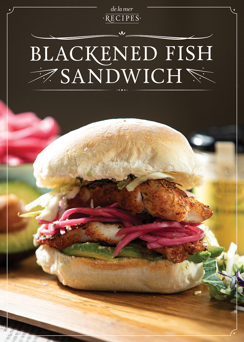 Blackened Fish Sandwich